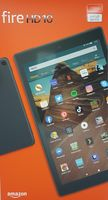 """Amazon Fire HD 10 64GB White incl. Alexa 10"""" w/SO Android - Tablet - 2 GHz"""