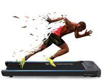 MARKBOARD-WP2 Laufband, 440W Motor, eingebaute Bluetooth-Lautsprecher, einstellbare Geschwindigkeit 1-6KM, LCD-Bildschirm und Kalorienzähler, ultradünn und geräuschlos, Fernbedienung,für Schreibtisch - fit & gesund im Büro & zu Hause | Bewegung & ergonomisches Arbeiten