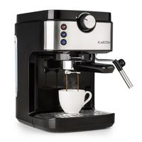 BellaVita Espresso Espressomaschine 20Bar 1575W 900ml silber