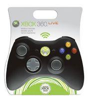 Microsoft Xbox 360 Wireless Controller, Black, Joystick, Kabellos