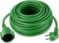 Verlängerungskabel Schuko 30 Meter grün Stromkabel IP44 bis 3500 Watt Garten hochwertig und praktisch mit Kindersicherung für den Außenbereich