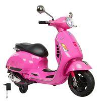 Ride-on Vespa pink 12V