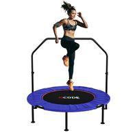 PRASACCO Fitness Trampolin Indoor Erwachsene