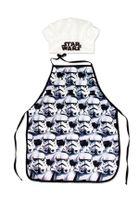 Star Wars Storm Trooper Chefkoch Set 2 tlg. Kochmütze & Kochschürze