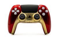 Sony PS5 / PlayStation 5 DualSense Wireless Controller - Custom Design Rot Gold