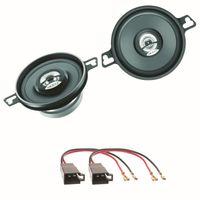 Hertz DCX 87.3 8,7 cm 2 Wege Koaxial Lautsprecher  für Polo 86C Golf 2