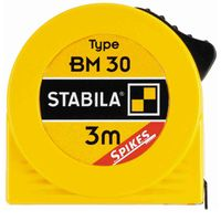STABILA 164-50 Taschenbandmaß BM 30 3 m, 12,5 mm breit, gelb