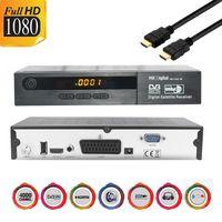 MK Digital HD-1461se 1080p FULL HD Sat Receiver Scart, HDMI, EPG USB Mediaplayer Astra-Hotbird-Türksat vorprogrammiert