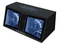 Crunch CRB-1000 Dual - Bandpass Subwoofer Kiste 2 x 30 cm 2000 Watt max CRB 1000