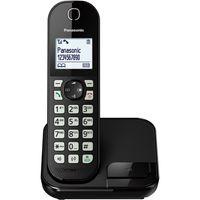 PANASONIC KX-TGC 450GB schwarz Schnurloses-Telefon Uhr Alarm DECT Eco-Modus