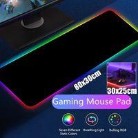 RGB Gaming Mousepad USB LED Gaming Maus Pad Anti-Rutsch Matte PC Computer