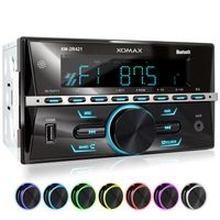 XOMAX XM-2R421 Autoradio mit Bluetooth, USB und AUX-IN