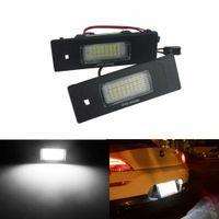 2X LED Kennzeichenbeleuchtung Lampe für BMW E63 E64 F20 E81 E87 E85 E86 E89 Z4 Mini Cooper R55 R60 R61 63267165735, 63267193294, 63266913913, 63262755711