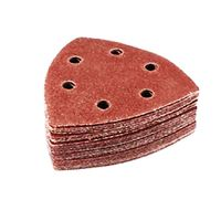 100 Klett Schleifblätter 6-Loch Schleifdreieck für Multischleifer P80