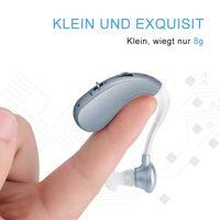 Wiederaufladbare Mini Digitale Hörgeräte Ton Verstärker Drahtlose Ohr Aids für Ältere Moderate zu Schweren