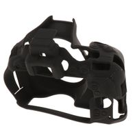 1 Stück Silikonhülle für Nikon D5500, D5600 Schwarz wie beschrieben Tragen / Umhängetaschen