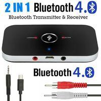 2In1 Bluetooth Sender Empfänger Wireless Aux Audio Transmitter Adapter 3.5mm