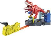 Hot Wheels City T-Rex Attacke Spielset