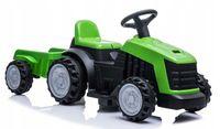 Traktor mit Anhänger Akku grün COIL