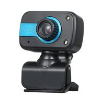 USB 2.1 Digital Web Camera Clip-on with Microphone for Laptop Desktop Video Calling