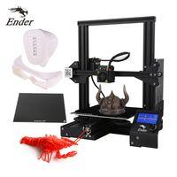 Creality 3D Ender-3 Druckgröße 220*220*250mm + 235x235mm Ultrabase Selbstklebende Build Surface Glass Plate