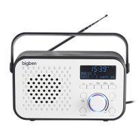 Bigben DAB+ Radio TR24DAB,, Automatischer Suchlauf, LED