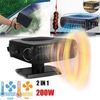 200W 12V Auto LKW Auto Heizung Heiß Cool Lüfter Windschutzscheibe Fenster Demister Defroster SWF201128001