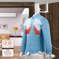 Lufttrockner Wäsche Trockner Dampfbügel Hemdenbügler Bügelautomat kompakt Reisen