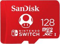 SanDisk® microSDXC™ UHS-I Speicherkarte für Nintendo Switch™ 128 GB, 100 MB/s