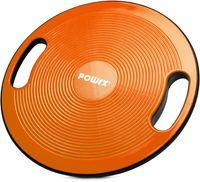 Balance Board | Wackelbrett Ø 40cm mit Griffen | Therapiekreisel Physiotherapie Therapiekreisel - Orange