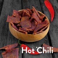 1kg Beef Jerky (8 x 125g) Hot Chili - 3Yo Nutrition - 51% Protein Biltong Trockenfleisch Fitnesssnack