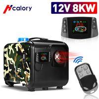 HCalory 12V 8KW Standheizung All-in-One Diesel Lufterhitzer, Tarnung Stil Auto Air Diesel Heizung LCD Luftheizung für LKW PKW, HCalory Offizieller Shop