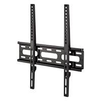 Hama TV-Wandhalterung 58 bis 142cm (23 bis 56 Zoll), 30Kg, VESA 400x400, fix, Farbe: Schwarz