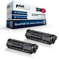 2x Kompatible XXL Tonerkartuschen für HP LaserJet P1002 W P1002 WL P 1100 Series P 1101 P 1102 P1102 w P 1103 P 1104 P 1104 w P 1106 CE 285A HP-85A HP 85A - XT Pro Serie