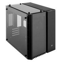 Corsair Crystal 280X - PC - Stahl - Gehärtetes Glas - Schwarz - Micro ATX - Gaming - 15 cm
