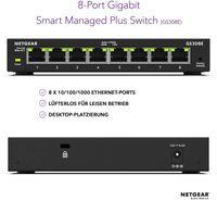 Netgear GS308E - Managed - Gigabit Ethernet (10/100/1000)