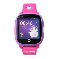 SoyMomo Space 4G - Telefon Uhr für Kinder (SIM-frei) - 4G, Videoanrufe, Anrufe, (Sprach)Nachrichten, Schulmodus, SOS-Funktion, GPS, Kamera, Taschenlampe und Schrittzähler (ROSA)