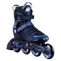 K2 Damen Inlineskates Alexis 84 Speed Alu 1 Black / Steel blue 9