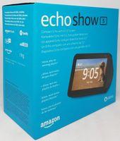 Amazon Echo Show 5, Alexa, Smarthome, Sprachsteuerung, schwarz, generalüberholt