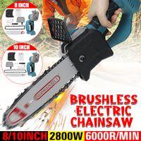 MECO 10-Zoll-Einhand-Elektrosäge mit Kette zum Holzschneiden, Astscherenschneiden, Innenhof, Haushalt und Garten, Ohne Batterie