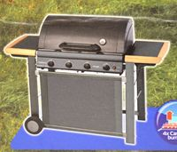 Campingaz Adelaide 4 Classic Deluxe Gasgrill, Grill, schwarz