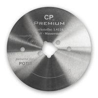 Kreismesser 80 mm Glatt für Potis Dönerschneider