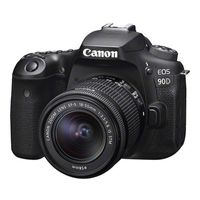 Canon EOS 90D Gehäuse + EF-S 18-55mm f/3.5-5.6 IS STM, Farbe:Schwarz