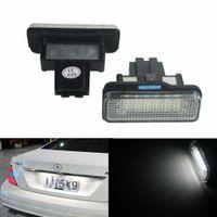 2X Canbus LED Kennzeichenbeleuchtung Nummernschild für Mercedes Benz S203 5D W211 S211 W219 C219 R171 2038200256, A2038200256, A2118200756