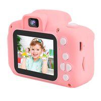 Kinderkamera Pink Mädchen 4 5 6 Jahre |  1080P Farbdisplay & 32GB SD Karte | Fotoapparat Digitalkamera Rosa | Baby Geschenk
