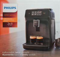 Philips Series 1200 EP1200/00 Kaffeevollautomat Espressomaschine, schwarz