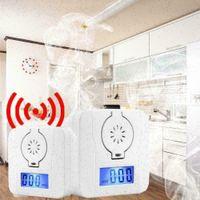 LCD-Kohlenmonoxid (CO) -Detektor Alarm Mini CO Alarm mit Rußwabengasdetektor