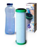 NFP Premium, Carbonit Monoblock mit Gratis Trinkflasche 1L