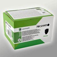 Lexmark Toner 78C2XK0  schwarz