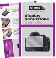 Schutzfolie für Canon EOS 250D Display Folie klar Displayschutzfolie